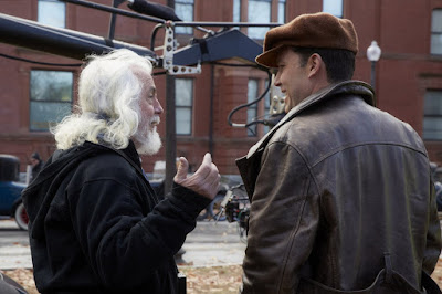 Ben Affleck and Robert Richardson on the set of Live By Night (7)