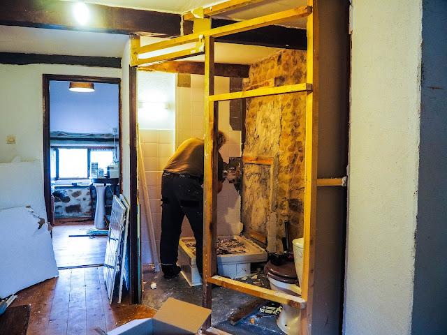 Ombouwen kamer 1