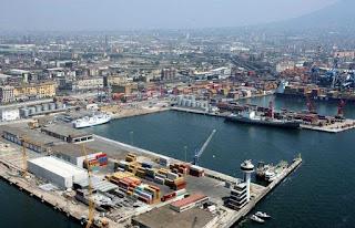 Andamento del traffico nei porti campani