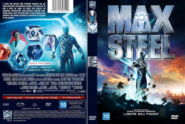 Capa DVD Max Steel [Custom]