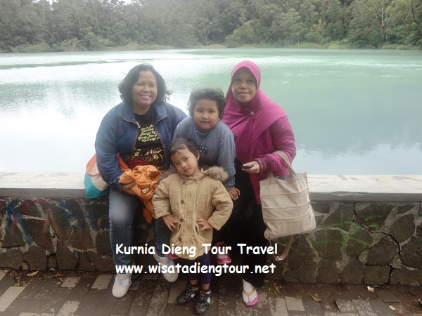 wisata keluarga di dieng