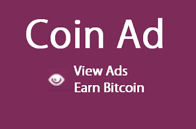 Earn Bitcoin by clicking ads