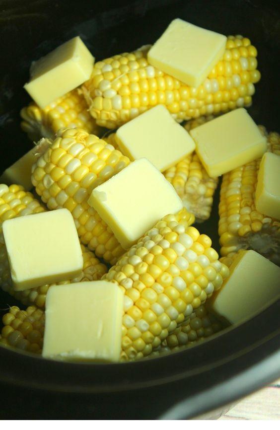 Slow Cooker Sweet Buttery Corn
