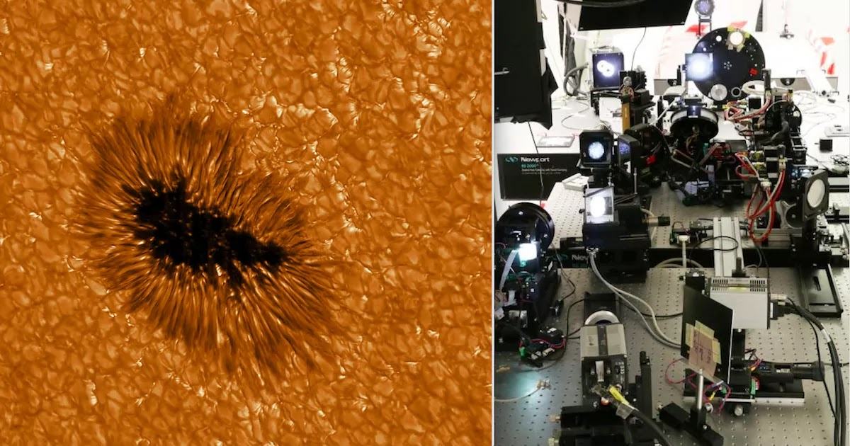 Europe's Largest Solar Telescope Snaps Most Detailed Images Of The Sun's Surface Ever Captured
