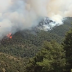 Πάτρα - Φωτιά στην περιοχή Περιστέρα