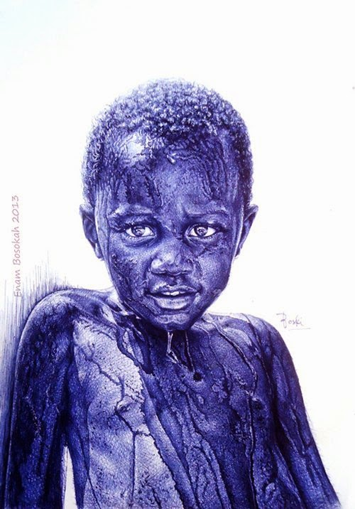 16-Life-Portrayed-by-a-Ballpoint-Pen-Enam Bosokah-www-designstack-co