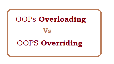 Difference between overloading and overriding in php with Example