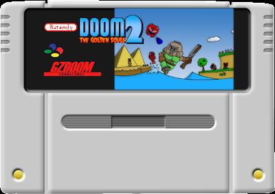 Doom - The Golden Souls 2 - Cartridge