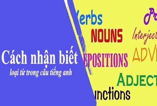 Cách nhận biết loại từ trong câu tiếng anh theo vị trí của từ đang đứng
