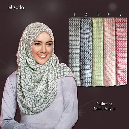 Belanja Hijab Branded Elzatta Kerudung Pashmina Selma Mayna