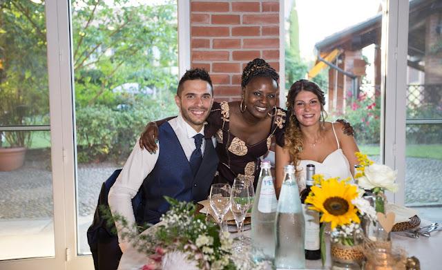 Tavolo sposi allestimento rustico