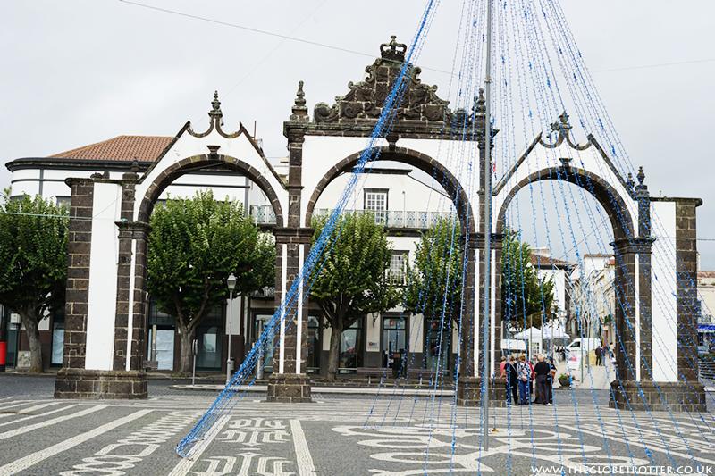 Portas da Cidade in Ponta Delgasa, The Azores