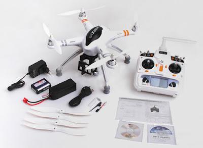 Spesifikasi Drone Walkera QR X350 - OmahDrones