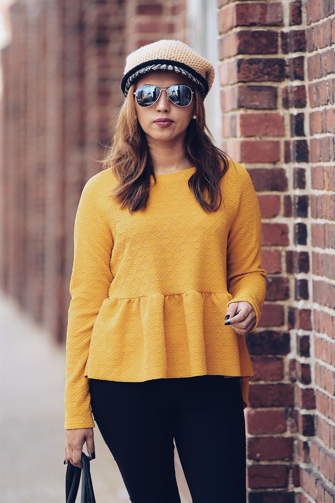 Some Mustard Yellow  by MariEstilo-look of the day-fashionblogger-streetstyle-fashionista-moda-fallfashion