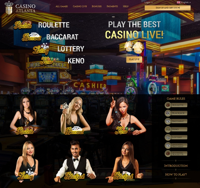 Casino Atlanta Screen