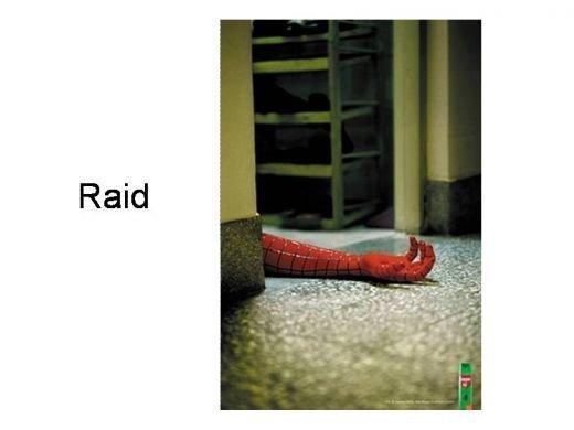Thuốc xịt côn trùng Raid không chừa cả Người Nhện