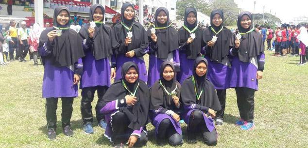 Naib Johan Bola Jaring Antara Maktab Mahmud Negeri Kedah
