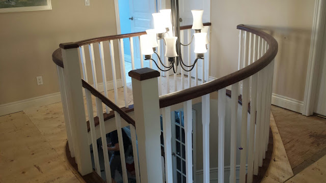 Custom Staircase Renovation Burlington