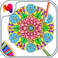 download adult coloring sheets mandala design