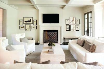 Desain Interior Ruang Tamu Bernuansa Putih