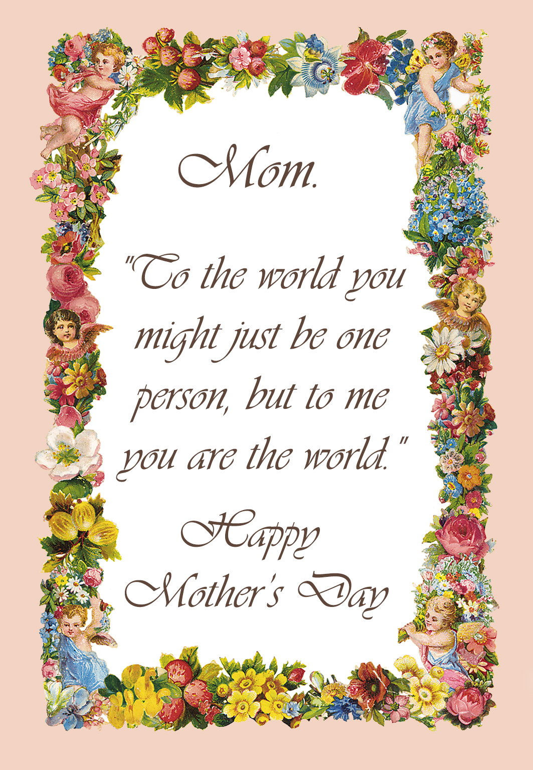 Mother S Day Nail Art Pancreatic Cancer Awareness: #Best Mothers Day Poems, Greetings, Sayings For Cards