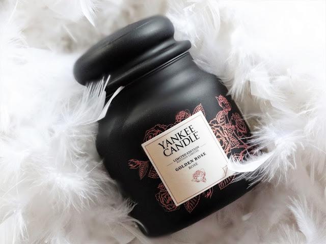 Avis Golden Rose de Yankee Candle, blog bougie, blog beauté, blog parfum