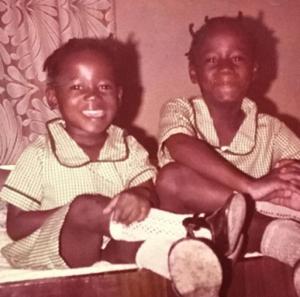 Late Tosyn Bucknor & Her sister, Funke