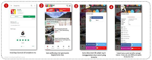 Baca Berita di Aplikasi Uzone, dapat Informasi, dapat Pulsa juga lho!