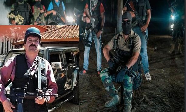 El Chapo andaba protegido por 30 a 40 pistoleros, usaba pistolas, rifles tipo AK-47 y hasta bazucas
