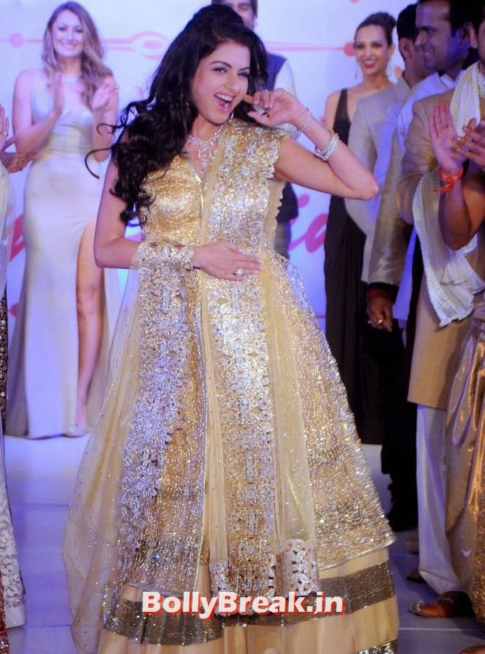 Bhagyashree, Amy Billimoria Fashion Show - The Big Fat Fashionable Wedding