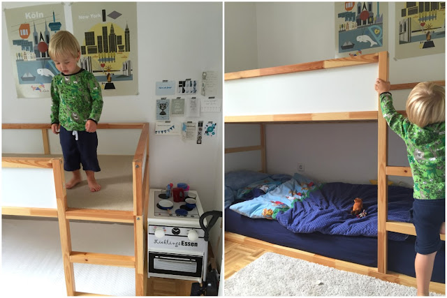 kleines freudenhaus kinderzimmer makeover mit ikea kura hack. Black Bedroom Furniture Sets. Home Design Ideas
