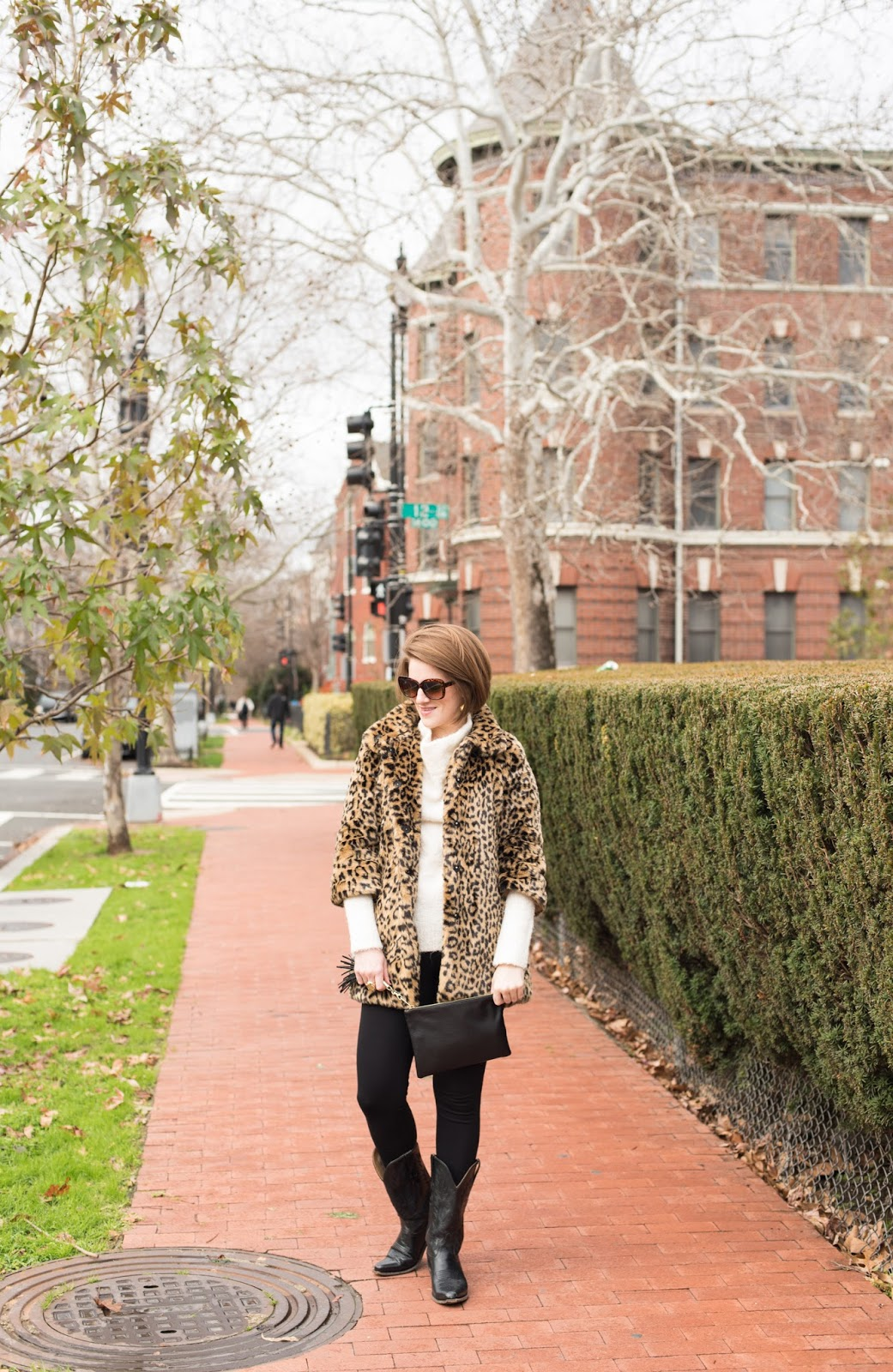 leopard print coat - faux fur coat - leopard faux fur coat