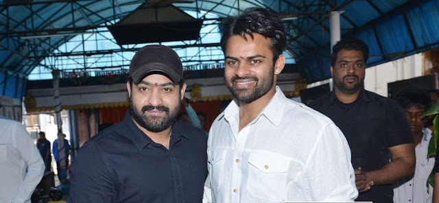 Sai Dharam Tej Jawan Movie Launched by Ntr