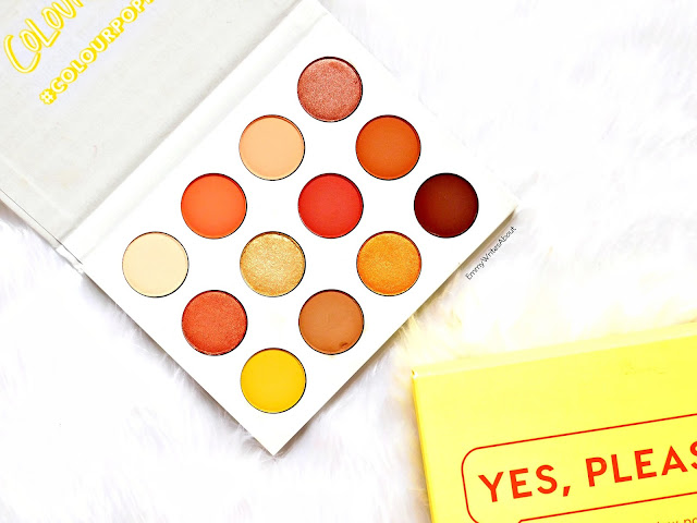 ColourPop Yes Please Eyeshadow Palette Review