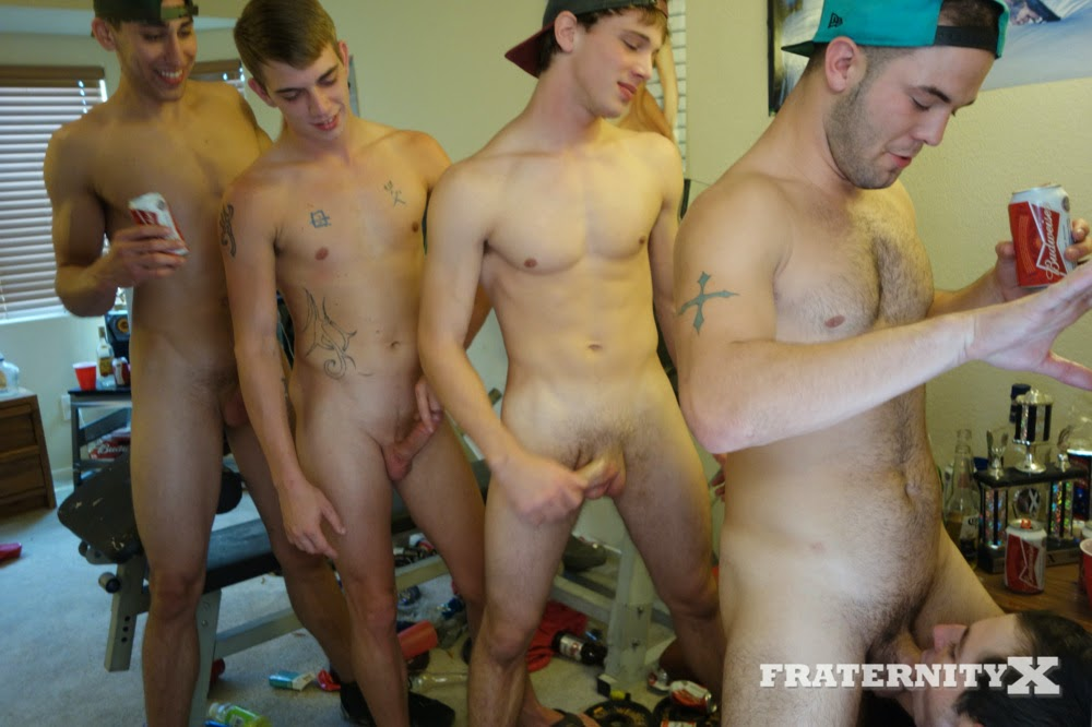 My first college orgy