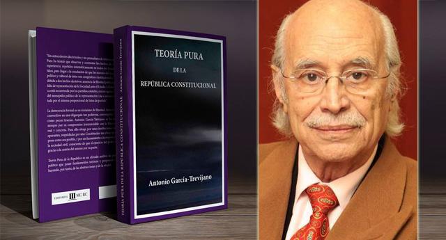 """MCRC reedita """"Teoría Pura de la República"""" obra cumbre de Antonio García-Trevijano"""