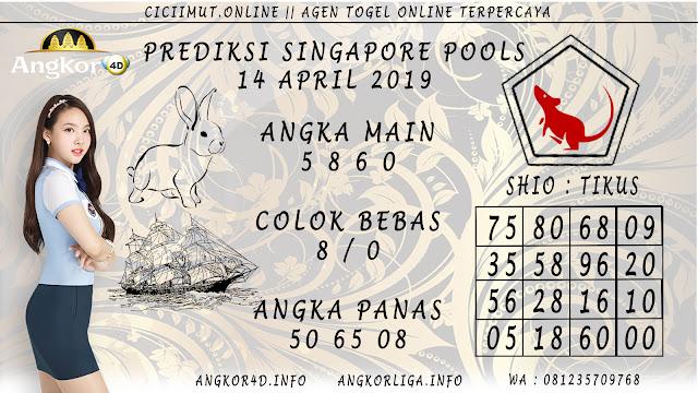 Prediksi Angka Jitu SINGAPORE POOLS 14 APRIL 2019