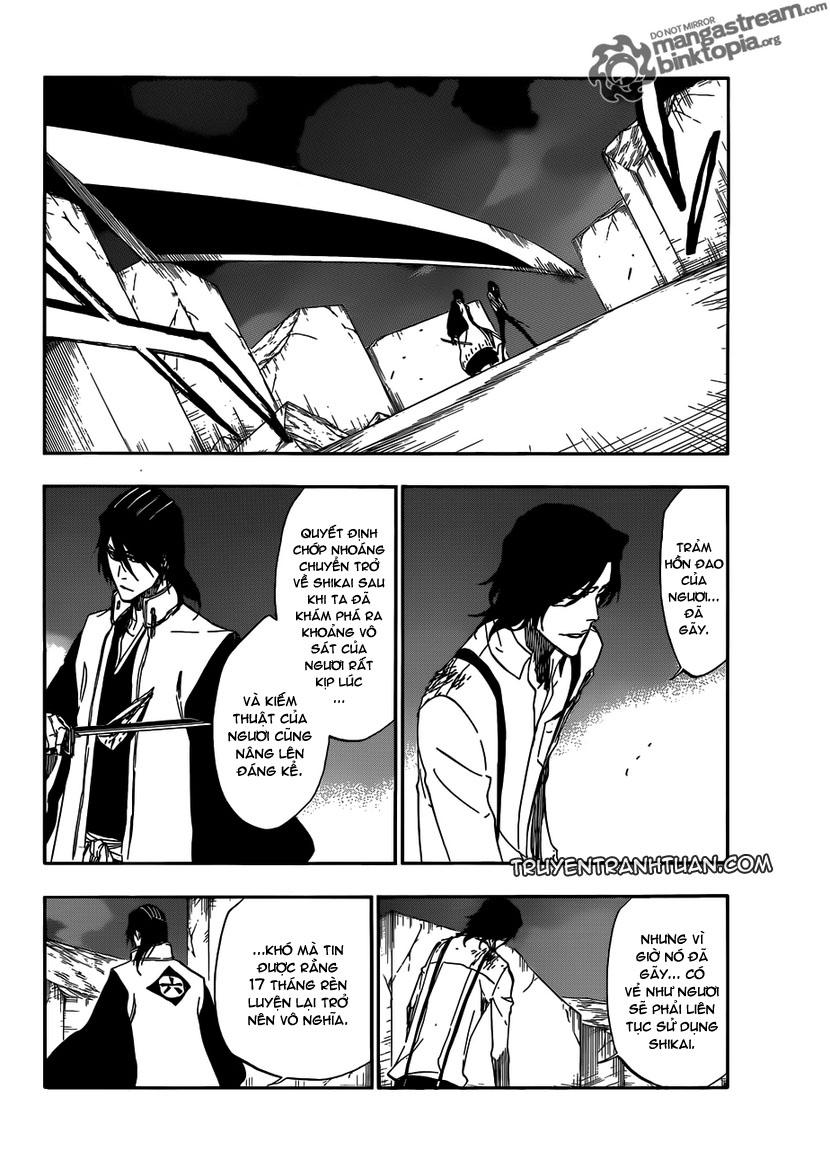 Bleach chapter 472 trang 4