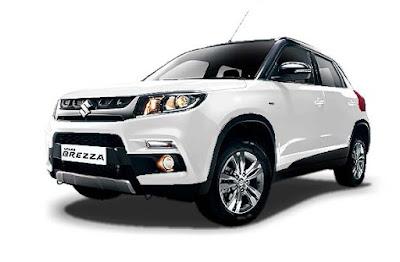 Maruti Suzuki Vitara Brezza amazing white color