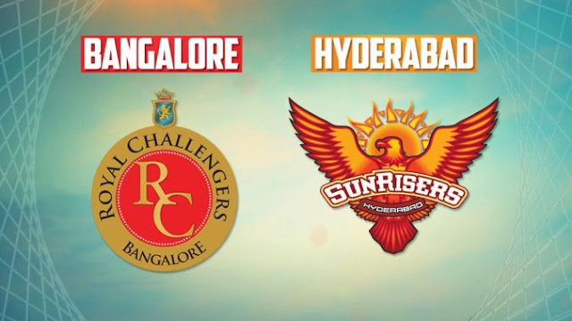RCB vs SRH Cricket Match Live Updates