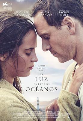 Cartel oficial español: La luz entre los océanos (2016)