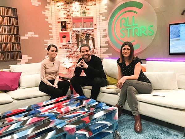 TELEVISÃO || Fui ao CC All Stars