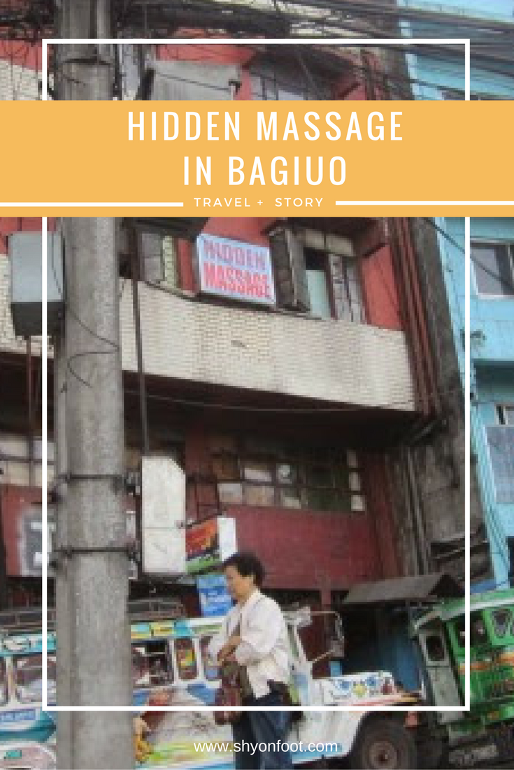 hidden massage in baguio ~ shy on foot