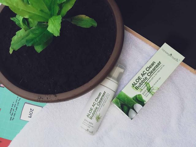 Hansaegee Nature : Aloe AC Clean Bubble Cleanser