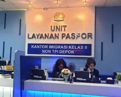 Alamat Telepon Kantor Imigrasi Kelas II Non TPI Depok