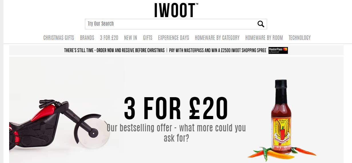 ārzemju interneta veikals IWOOT
