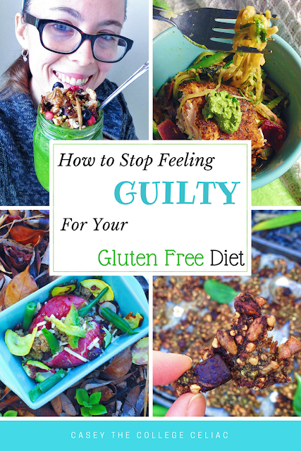 How to Stop Feeling Guilty about Your Gluten Free Diet