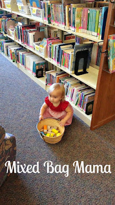 baby at library