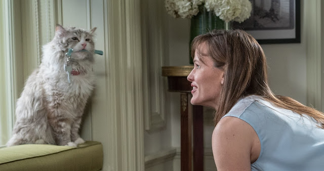 "Confira novo trailer da comédia ""Nine Lives"", com Kevin Spacey e Jennifer Garner"