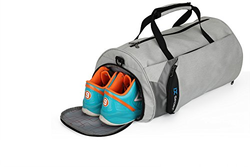 26f52cc1453dc INOXTO Fitness Sport Small Gym Bag with Shoes Compartment Waterproof Travel  Duffel Bag for Women and ...